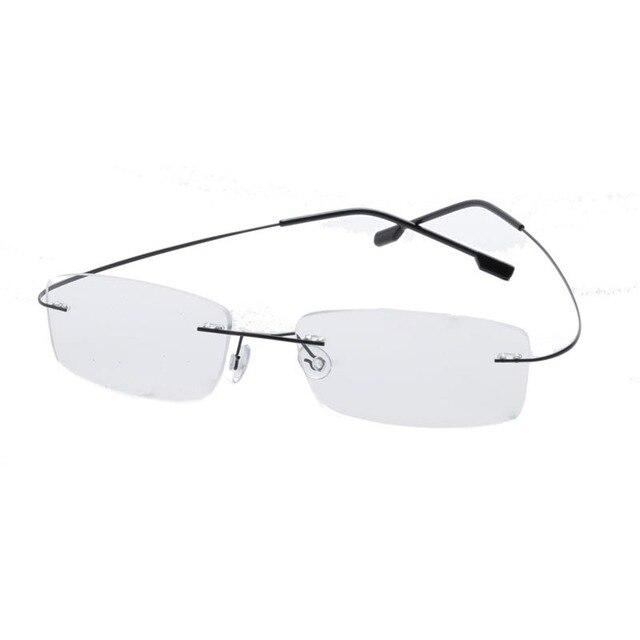 Vintage Eyeglasses Frames Plain Stainless Steel Glass Spectacles ...