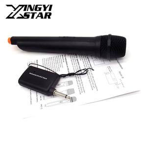 Professional Wireless Microphone System Transmitter Handheld Mic Mike Microfone Microfono For Karaoke Mixer DJ KTV PA Amplifier