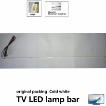 24pcs 443mm LED Backlight strip for TV lamp bar jewelry counter lamp bar cold white