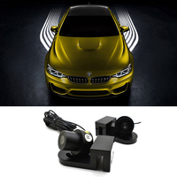 Car Rover 2x Car Door LED Shadow Light Angel S Wings Projector Courtesy Lights Car Styling
