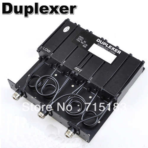 Repeater Duplexer:30W N-connector VHF 6 Cavity Duplexer SGQ-150