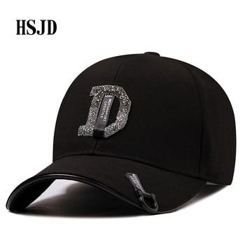 2018 verano nuevo mujeres diamante carta de gorras de béisbol para dama  mujer ajustable Hip Hop moda brillante del Snapback sombreros 455e1c2dc9a