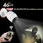 1.0MP P2P IR vision outdoor wifi IP cameras 720P two way audio 3g 4g sim card wireless IP bullet cameras 720P wifi camera