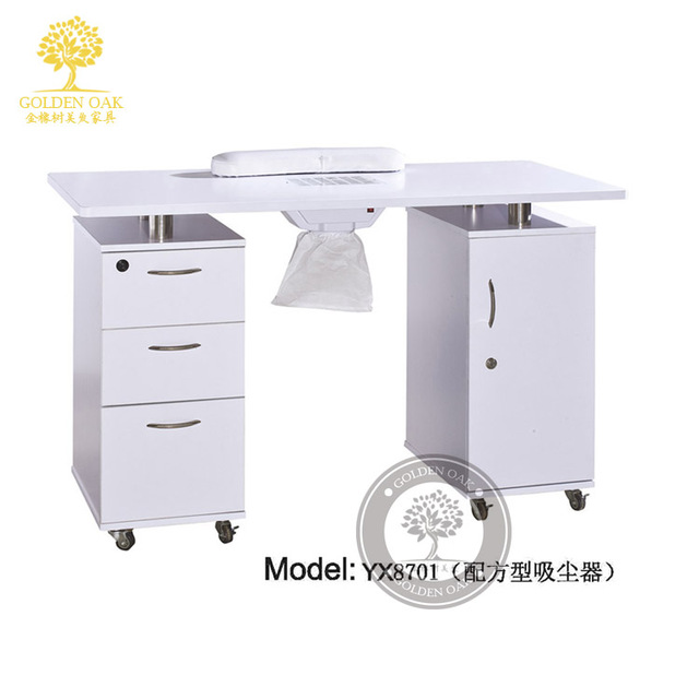 European nail table. Korean manicure table. Single double nail table ...