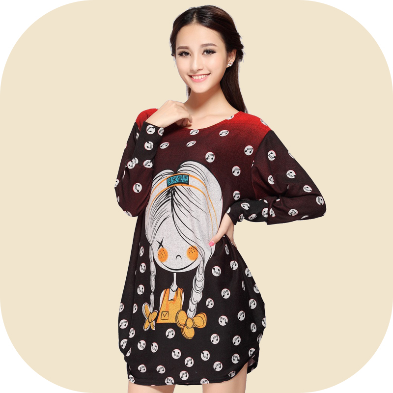 2018 Fashion long-sleeve sweatshirt maternity clothing casual autumn dress cashmere hoodies clothes for pregnant women