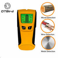3 In1 Pinpointer Metal Detectors Stud Center Finder Search Metal AC Live Wire Detector Wall Scanner Gold Finder Electric Box