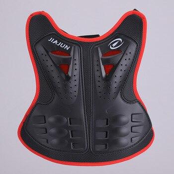 Motocicleta niños Infantil Moto Protección corporal esquí cuerpo armadura columna pecho espalda Protector equipo Protector bicicleta