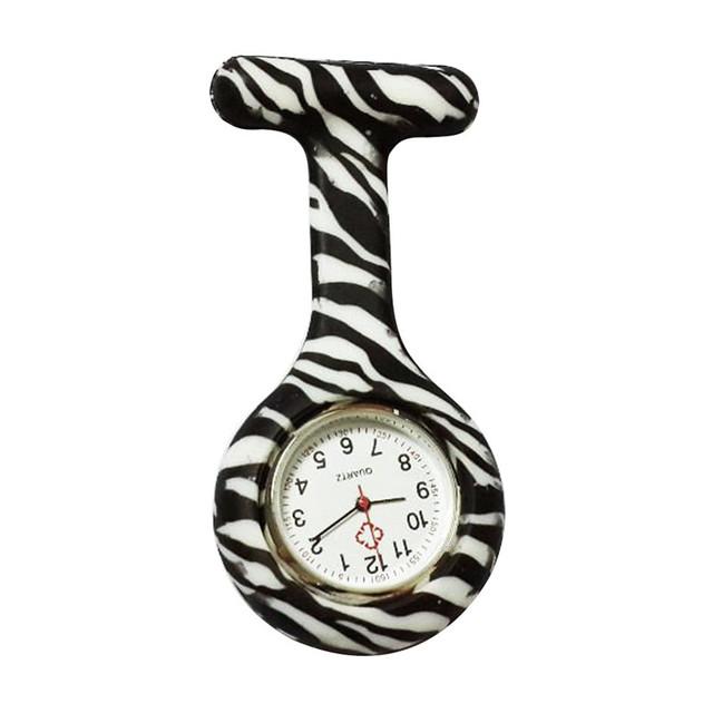 Wholesale Retro Silicone Stainless Round Dial Quartz Fob Quartz Nurse Pocket Watch Gift For women men Vogue Casual CLAUDIA