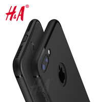 Luxury Back Matte Soft Silicon Case for iPhone 6 Cases 6s Plus 5 5s SE Full Cover for iPhone 7 Case Plus Phone Cases