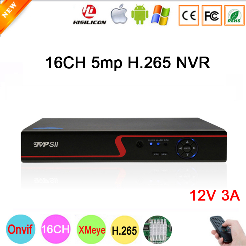 5mp/4mp/3mp/2mp/1mp IP Camera Red Panel Hi3536D XMeye 1CH RCA Audio output H.265 5mp 16CH 16 Channel Onvif IP NVR Free Shipping цены