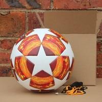 Red Madrid 19 Final Balls 2018 2019 finals Soccer Ball Match football ball PU high grade seamless paste skin