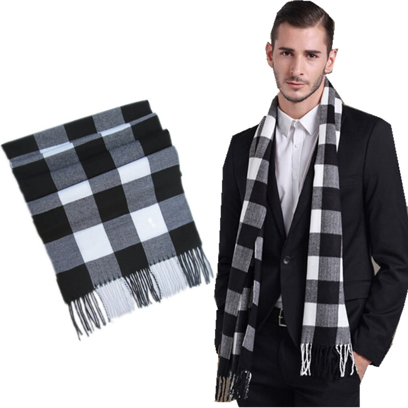 WJ002 07winter 2016 new 76 plaid colors cashmere scarf for ...