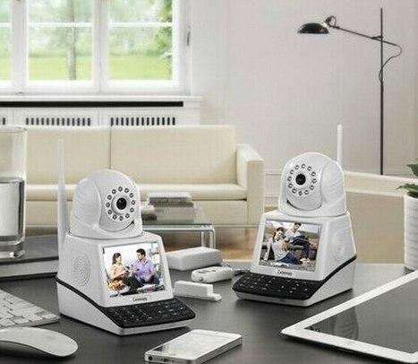 US $177 0 |P2P Wifi Skype IP Cam Wireless 32G Video Record Wifi Skype cam  Camera video phone 3 5