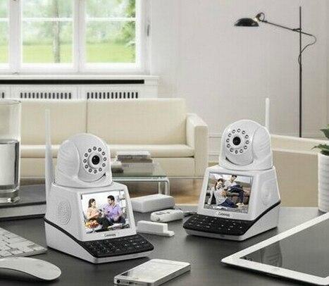 P2P Wifi Skype IP caméra sans fil 32G enregistrement vidéo Wifi Skype caméra vidéo téléphone 3.5