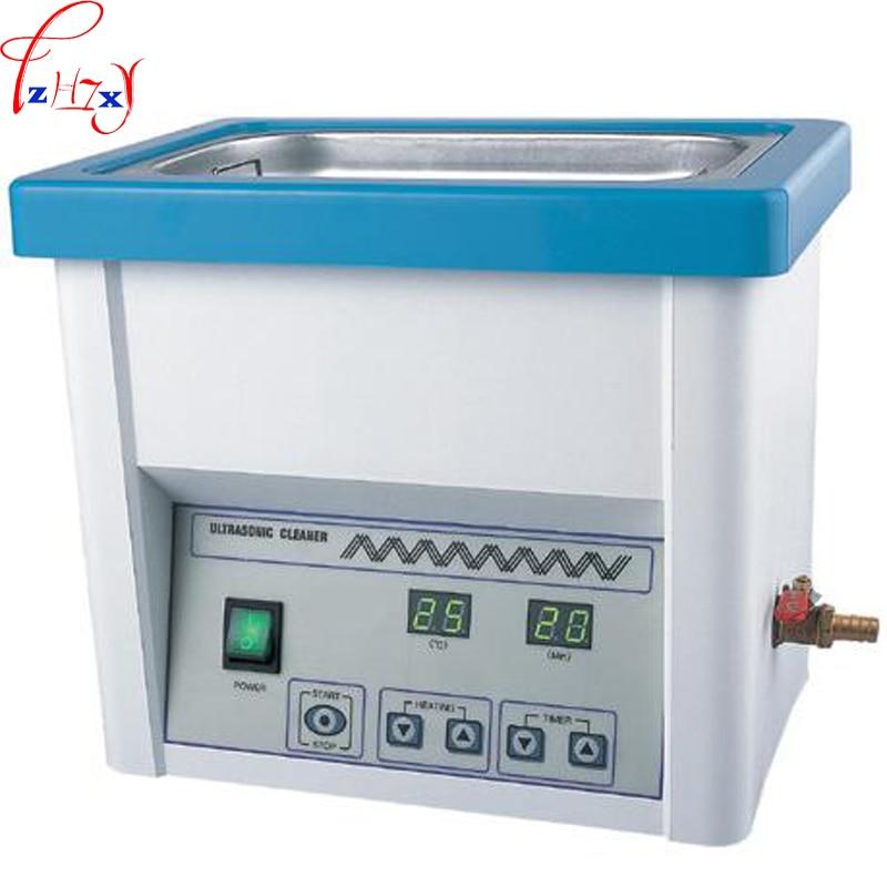 110/220 V 1 ADET Ultrasonik temizleme makinesi 5L diş ağız/laboratuvar/optik mağaza ultrasonik temizleme makinesi|machine machine|machine dentalmachine shop machine -