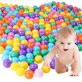 100 pcs 5.5 cm ecofriendly colorido plástico macio bola onda bola bebê engraçado toys ar água diversão ao ar livre brinquedo bola para as crianças