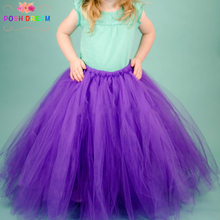 POSH DREAM Purple Long Tutu Skirt Little Child Length
