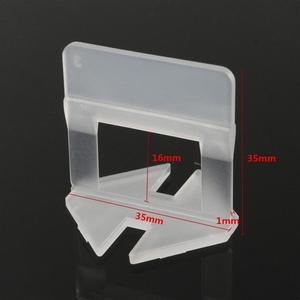 Image 5 - 200 chiếc Ốp San Bằng Hệ Thống Kẹp Bộ Treo Tường Tầng Không Gian Siêu Tốc Ốp Lát Dụng Cụ 1.0mm