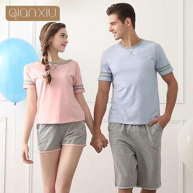 Qianxiu Fashionable Cotton Pajama Sets For men