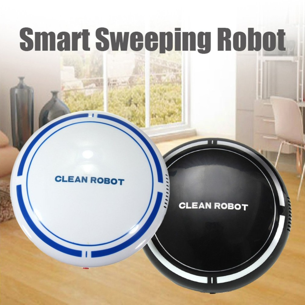 Automatic USB Rechargeable Smart Robot Vacuum Floor Cleaner Sweeping Suction Household Low Noise Dust Collector
