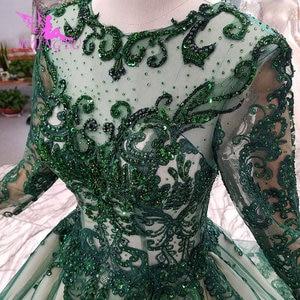 Image 4 - AIJINGYU שמלות ללבוש לחתונה בציר שנהב שמלה משתלמת כלה קוריאה מדהים שמלות ספרדית חתונה שמלה