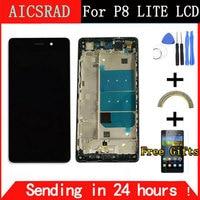 LCD 화웨이 P8 라이트 디스플레이 터치 스크린 디지