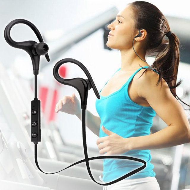 Bluetooth Earphones with Mic & Noise Cancelling