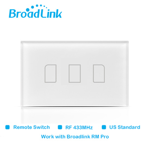 Image 5 - Original Broadlink TC2 US Standard RF Touch Panel Switch 123 Gang RM PRO Smart Home Universal Wireless WiFi RF Remote Control