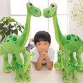 1 шт. 2017 Pixar Фильм Хороший Зеленый Динозавр Арло Динозавров Мягкие игрушки Плюшевые Мягкие Игрушки для детей подарок