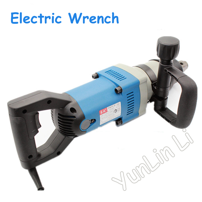 Electric Wrench 220V 1050W Impact Wrench for M24-M30 Large Torque Electric Impact Wrench P1B-FF-30