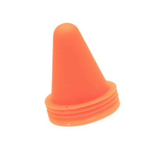 New 5Pcs Funny Wink Style Skate Pile Cup Windproof Roller Skating Cone Agility Training Marker Slalom Skateboard Marking Cones