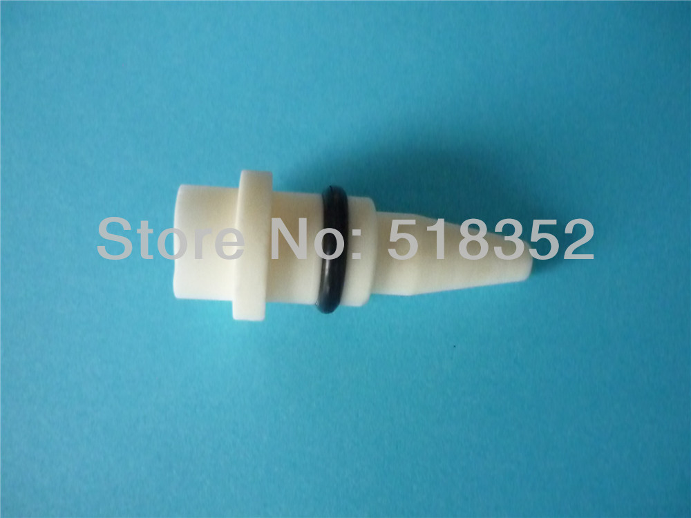 3053082/ 3083114 Sodick Ceramic S5030 Aspirator Nozzle C, Wire Outlet Tube Holder 26.5mmx12mmx1.5mm, WEDM-LS Machine Spare Parts