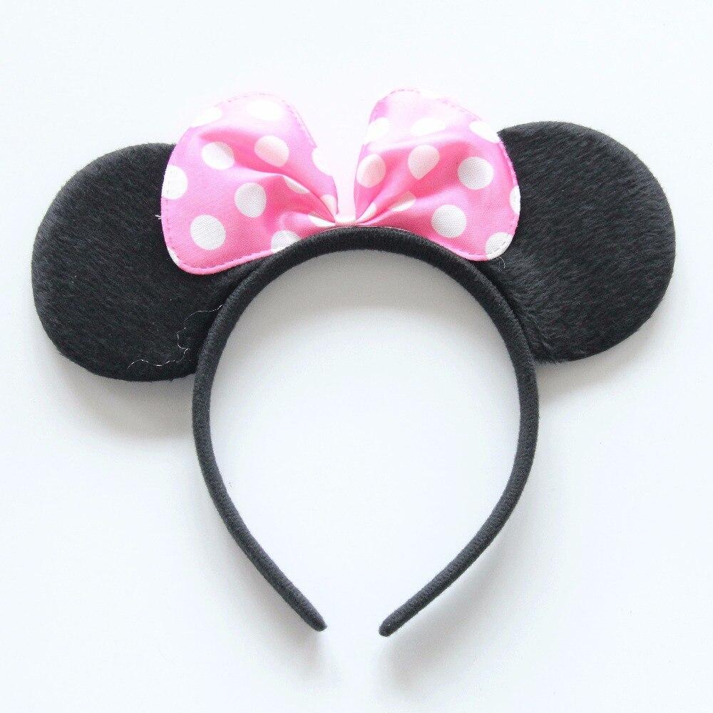 Mickey Mouse Ears Headbands Fancy Dress Accessory Adults Kids Birthday Party Fun