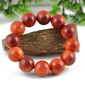 Authentic agathis alba bracelet dragon blood wooden Indonesia rosy natural wood wooden prayer beads bracelet Christmas gift 0311