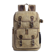 new style Large Volume Waterproof Canvas Camera backpack Outdoor Bag E280