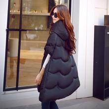 Girls winter spring fashion women genuine down jacket big star with big yards thick winter pregnant warm cape coat padded
