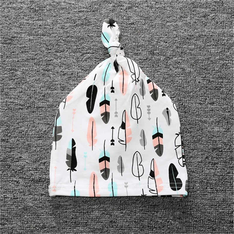 2020 赤ちゃん男の子女子帽子子供服アクセサリー綿とんがりキャップかわいいプリントベビーキャップホット販売四季 RDP-001