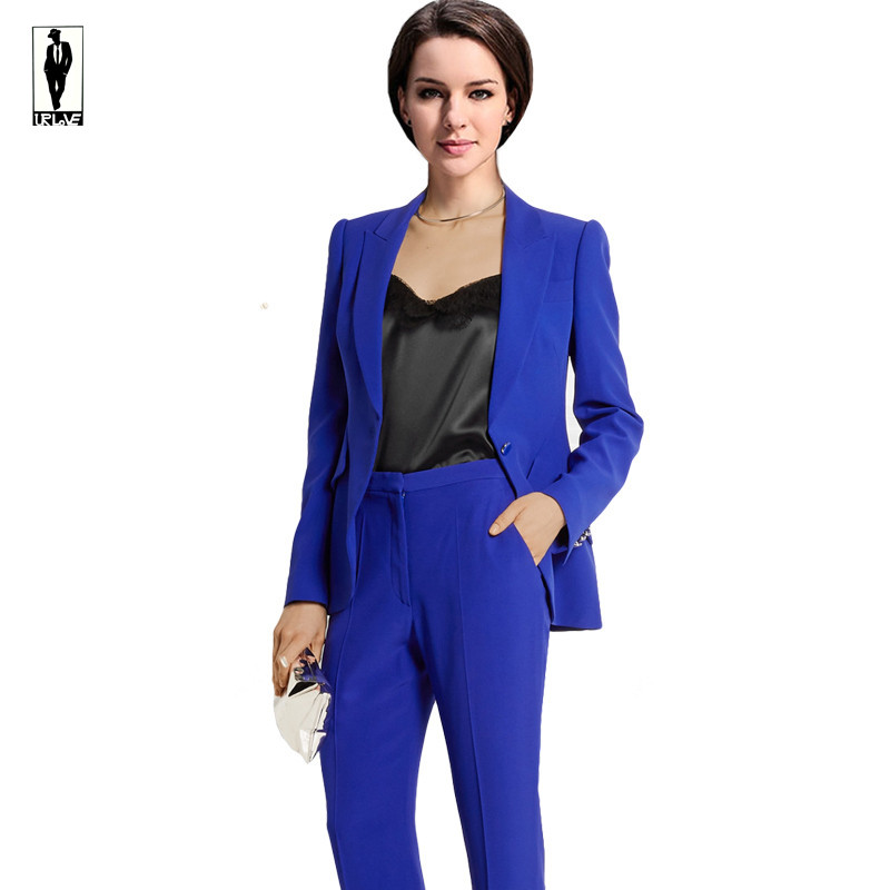 Popular Navy Blue Suit Trousers Women-Buy Cheap Navy Blue Suit