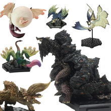 Japan Anime MHW Monster Hunter World Action Figure PVC Models Hot Dragon Decoration Toy Model Collection Gift japan anime digital monster x evolution original bandai tamashii nations digivolving spirits 05 action figure alphamon