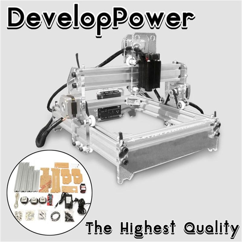 WOLIKE 2000MW A5 17x20cm Laser Engraver Cutting Machine Desktop Engraving CNC Printer DIY Desktop Wood Cutter