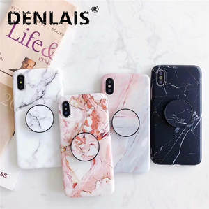 Marble Case For Iphone 8 7 Plus X 6 S Plus Back Cover Coque Silicone Soft Phone Case