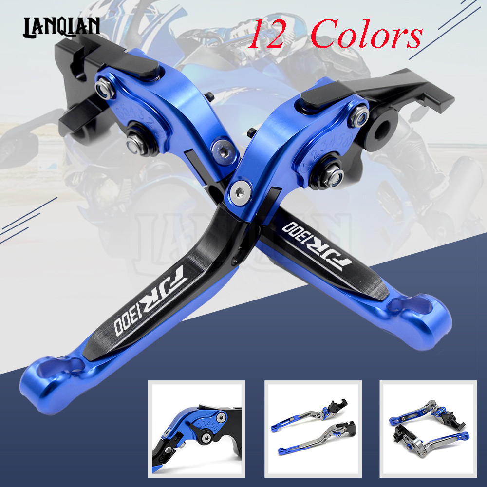 CNC Motorcycle Accessories Brake Clutch Levers Adjustable Folding Extendable Lever For YAMAHA FJR1300 2004-2018 FJR 1300 motorcycle scooter accessories cnc aluminum alloy adjustable folding extendable brake clutch levers for yamaha bws x 125