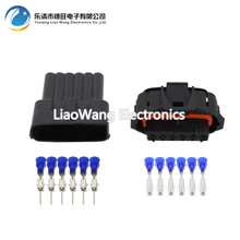 10 Sets 6-Pin GAK common rail accelerator pedal plug waterproof connector  DJB7069Y-3.5-11 / 21 car