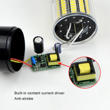 1Pcs 5736 SMD More Bright 5730 5733 LED Corn lamp Bulb light 3.5W 5W 7W 8W 12W 15W E27 E14 85V-265V No Flicker Constant Current