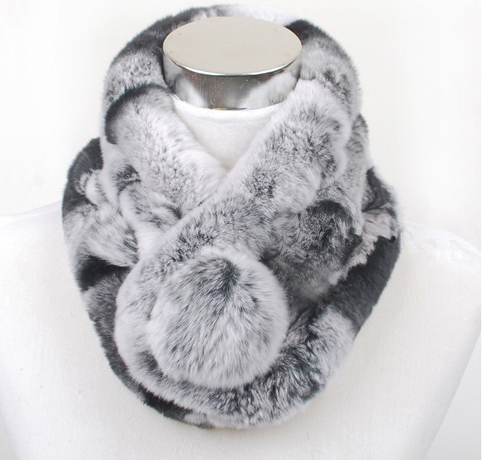 Luxury Knitted Fur Collar | Neck Scarves