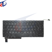 "10pcs/lot for macbook pro 15.4"" Sp Spanish Spain keyboard replacement A1286 Sp layout 2009-2012year"