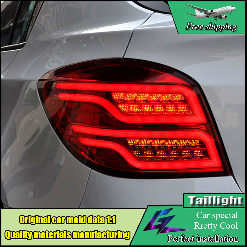 Car Styling TailLamp For Chevrolet Cruze Taillights 2010-2014 hatchback Tail Lights LED Rear Lamp DRL+Brake+Park+Signal Stop for vw volkswagen polo mk5 6r hatchback 2010 2015 car rear lights covers led drl turn signals brake reverse tail decoration