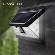 36 LED Solar Light Motion Sensor Lantern Outdoor Wall Lamp Waterproof Security Step Lights For Yard Garden Pathway