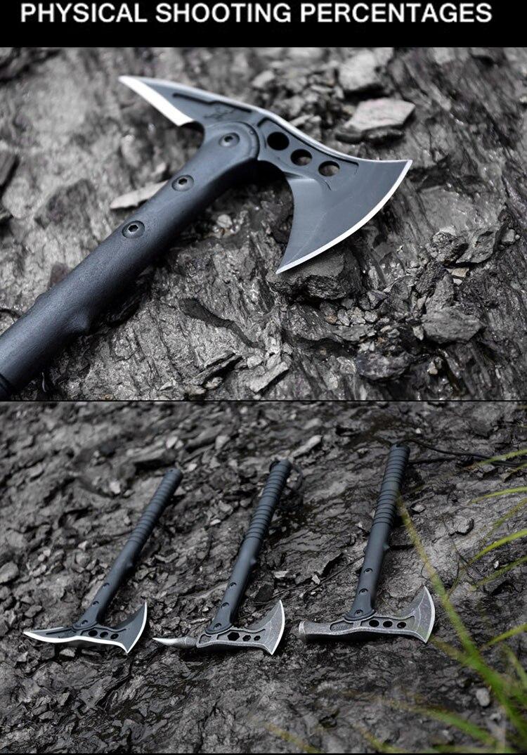 HX 3 style Américain Hawk Hache Tactique Tomahawk En Plein Air - Outillage à main - Photo 4