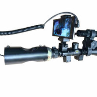New Arrival DIY Night Vision Scope Rifle Scope Add On Device for Android Mobile Phone with IR Torch
